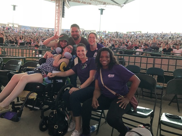 Resident Rehabbing after Brain Injury Attends First Concert
