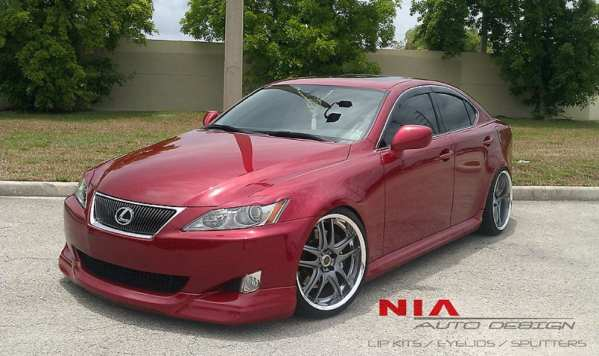06-10 Lexus IS350 IS250 IS-F IS convertible eyelids 2006 2007 2008 2009 2010 1