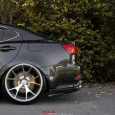 lexus is rear apron spat lip kit