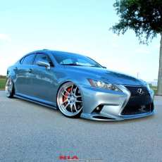lexus is side skirt splitter lip body kit