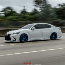 Lexus 4GS Sides aero ground effects kit