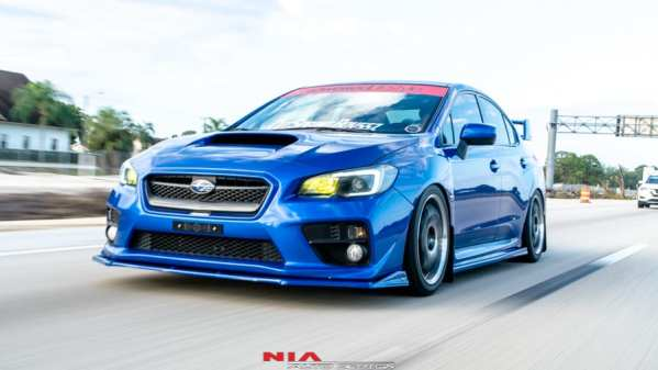 wrx front bumper extension ground effects aero kit