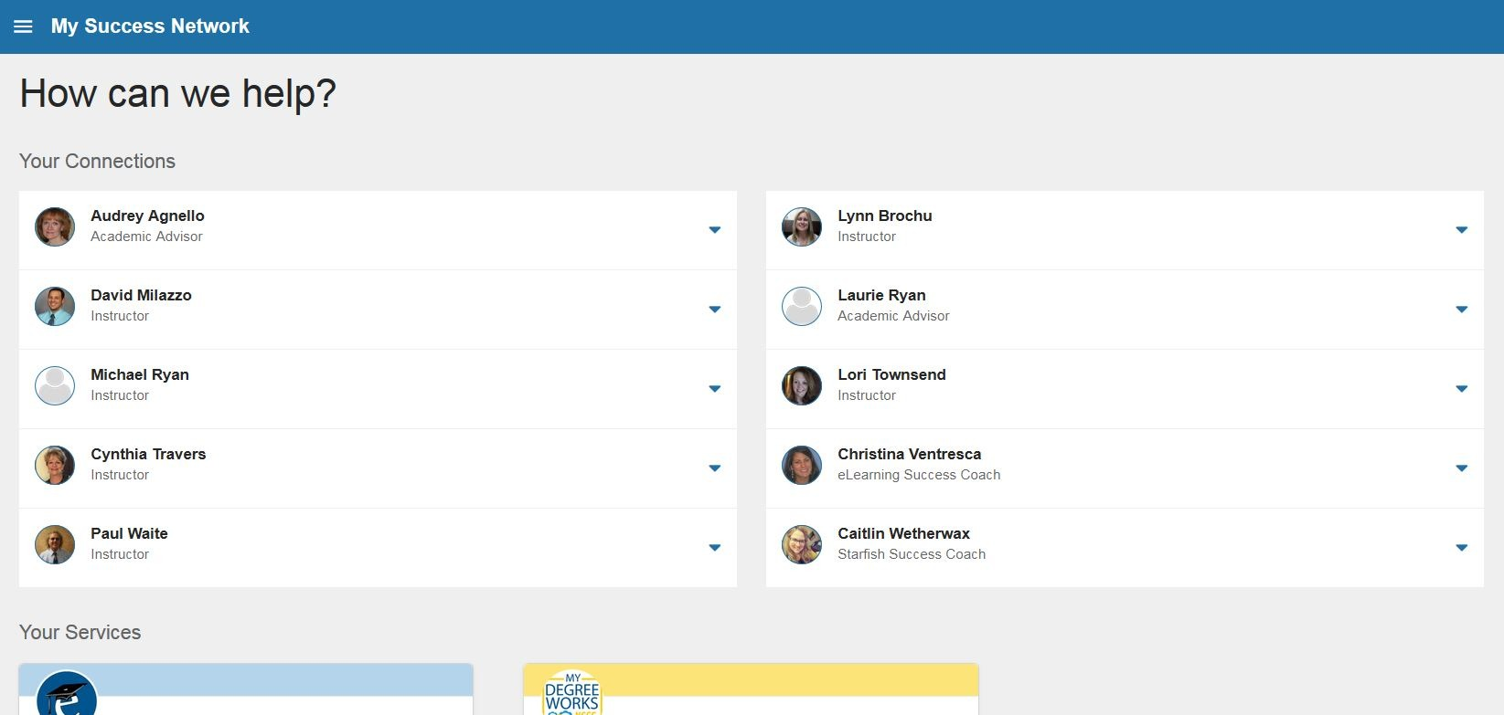 Starfish Success Network - screenshot