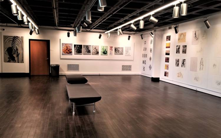 Dolce Valvo Art Center during the student exhibit