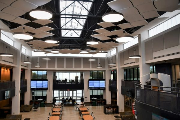 Learning Commons - lighting photo