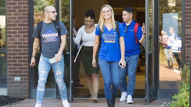 Students at NCCC's Sanborn Campus