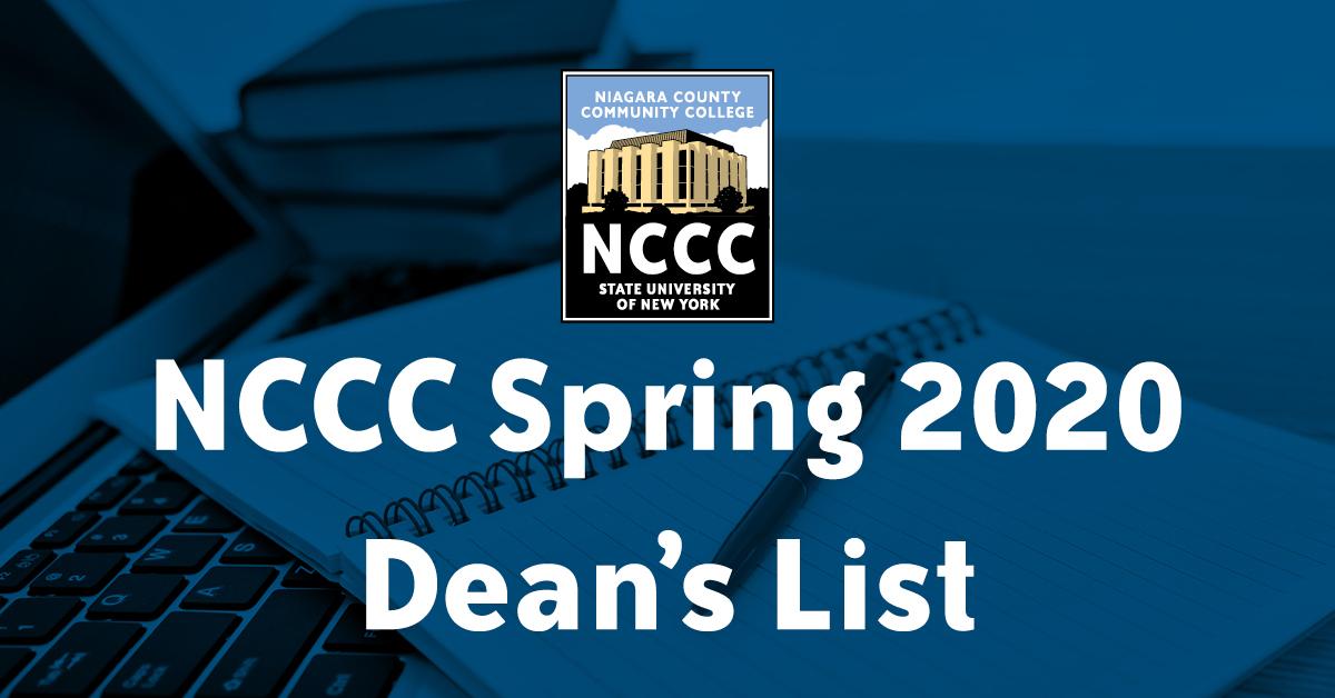 Spring 2020 Dean's List