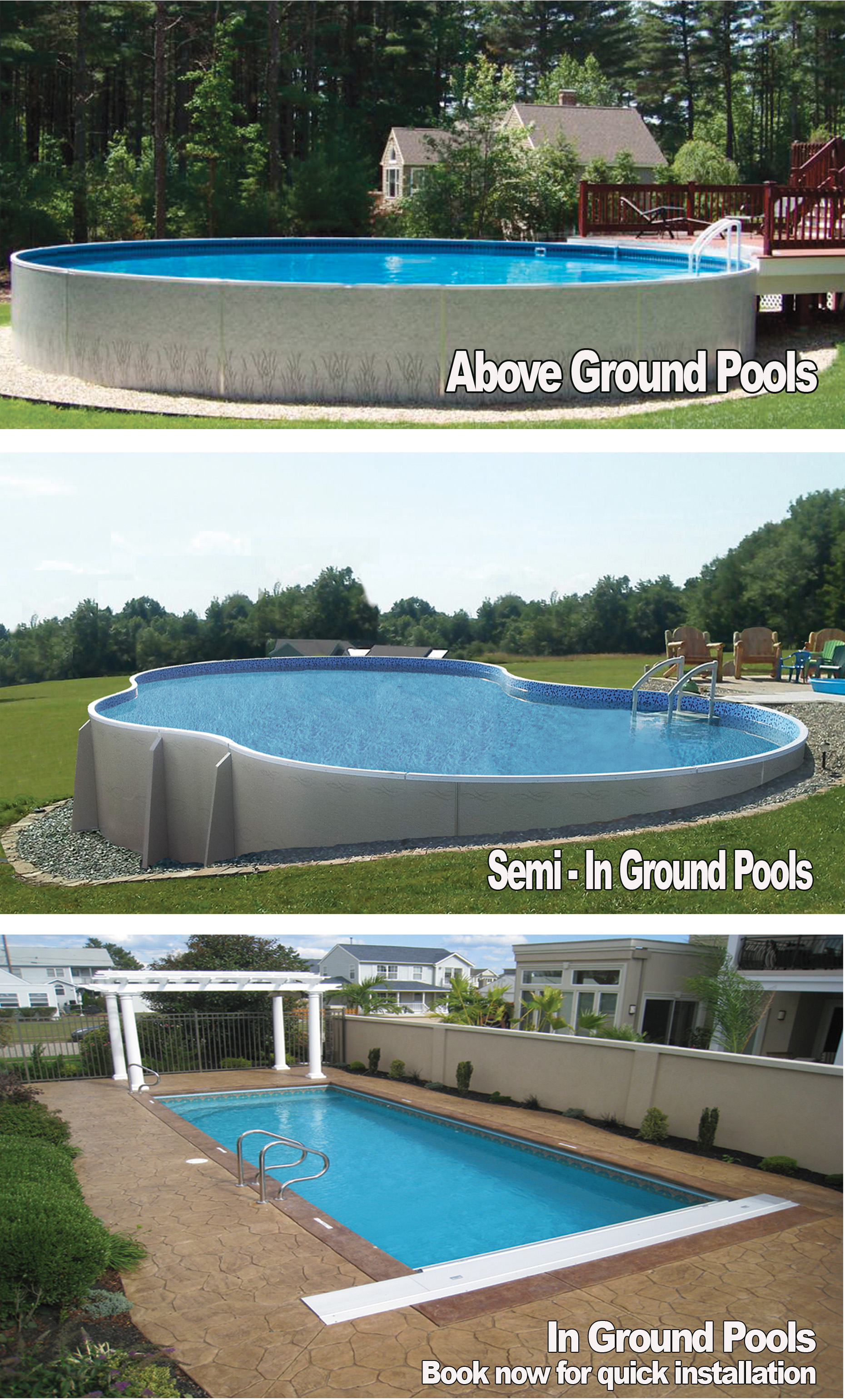 Above Ground Pools | Niagara Pool & Spa