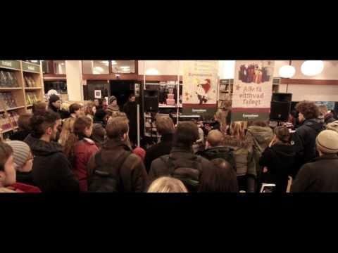 , Amiina play an Icelandic bookshop by Myles O'Reilly & IMTV Awards winners