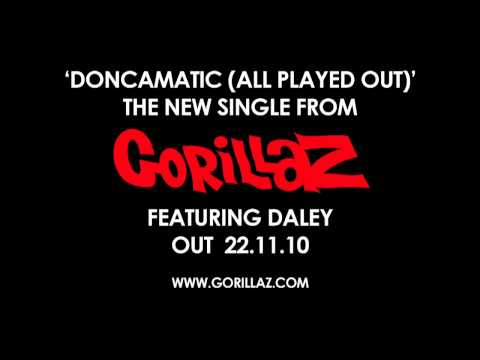 , New Gorillaz – 'Doncamatic (All Played Out)' feat. Daley