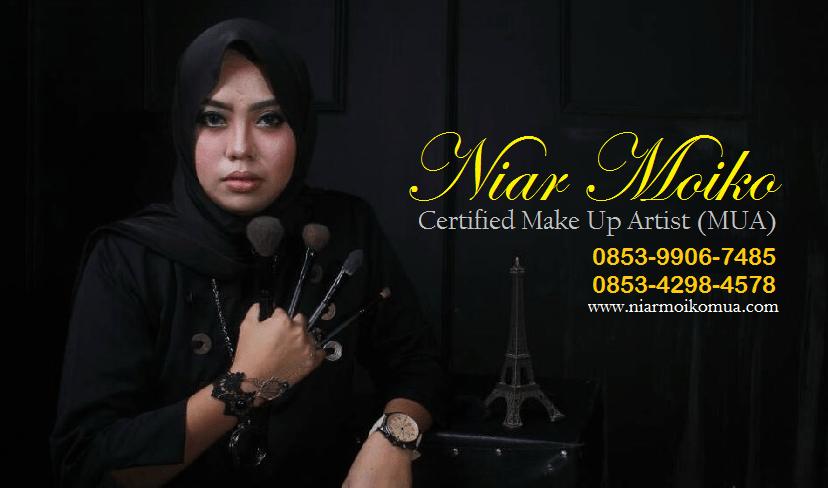 NiarMoiko MUA Makassar - Header