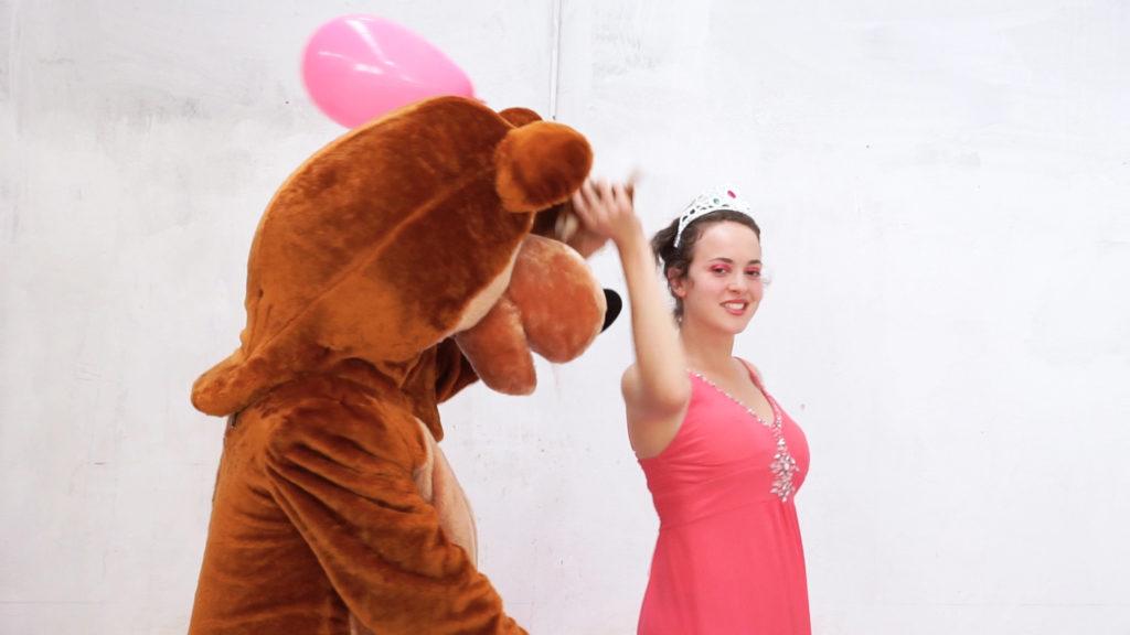 Pink & Bear - Orso ballerino