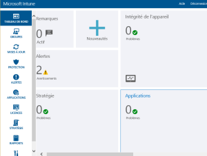 Manage application with Intune Access to the platform