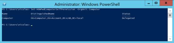 Configure permission
