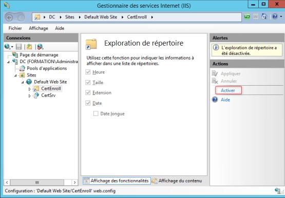 Manage Workgroup Workstation Configure IIS