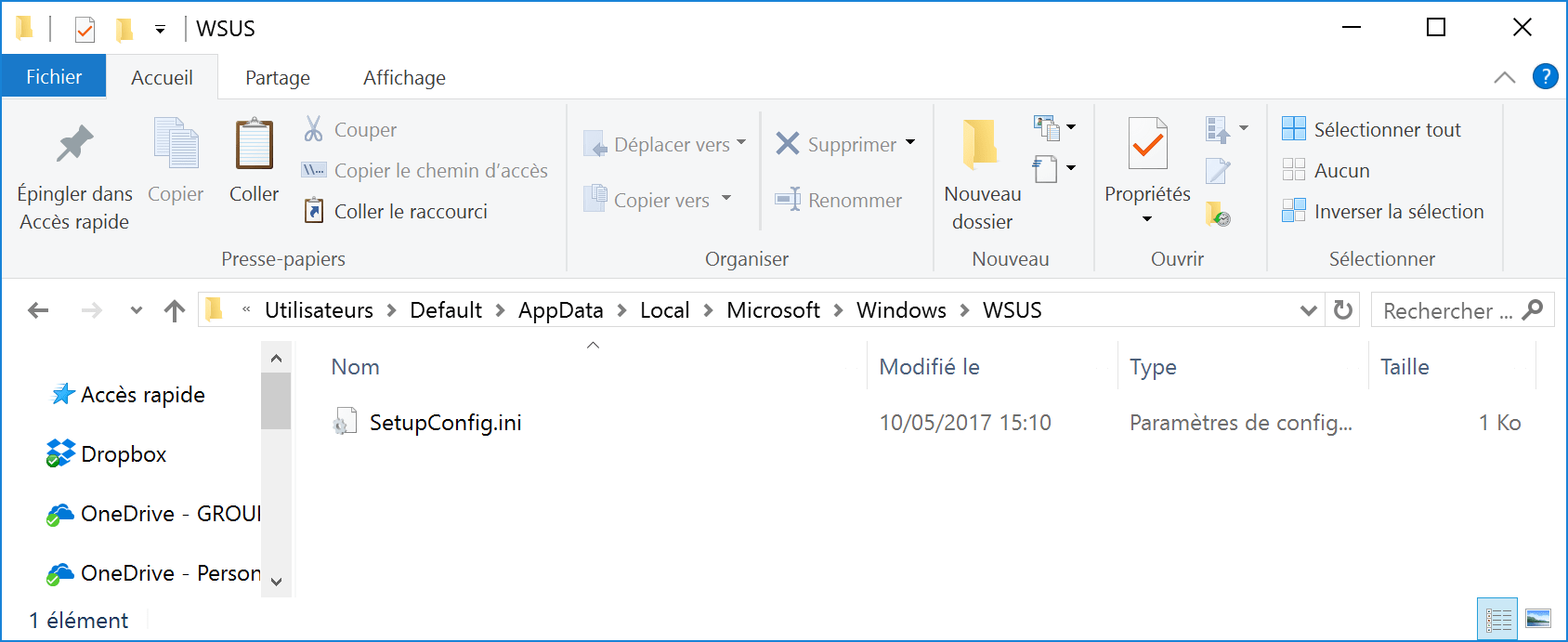 Manage Universal APPS and Windows Servicing Create File