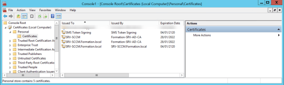 onfigure CMG Access to certificate templates