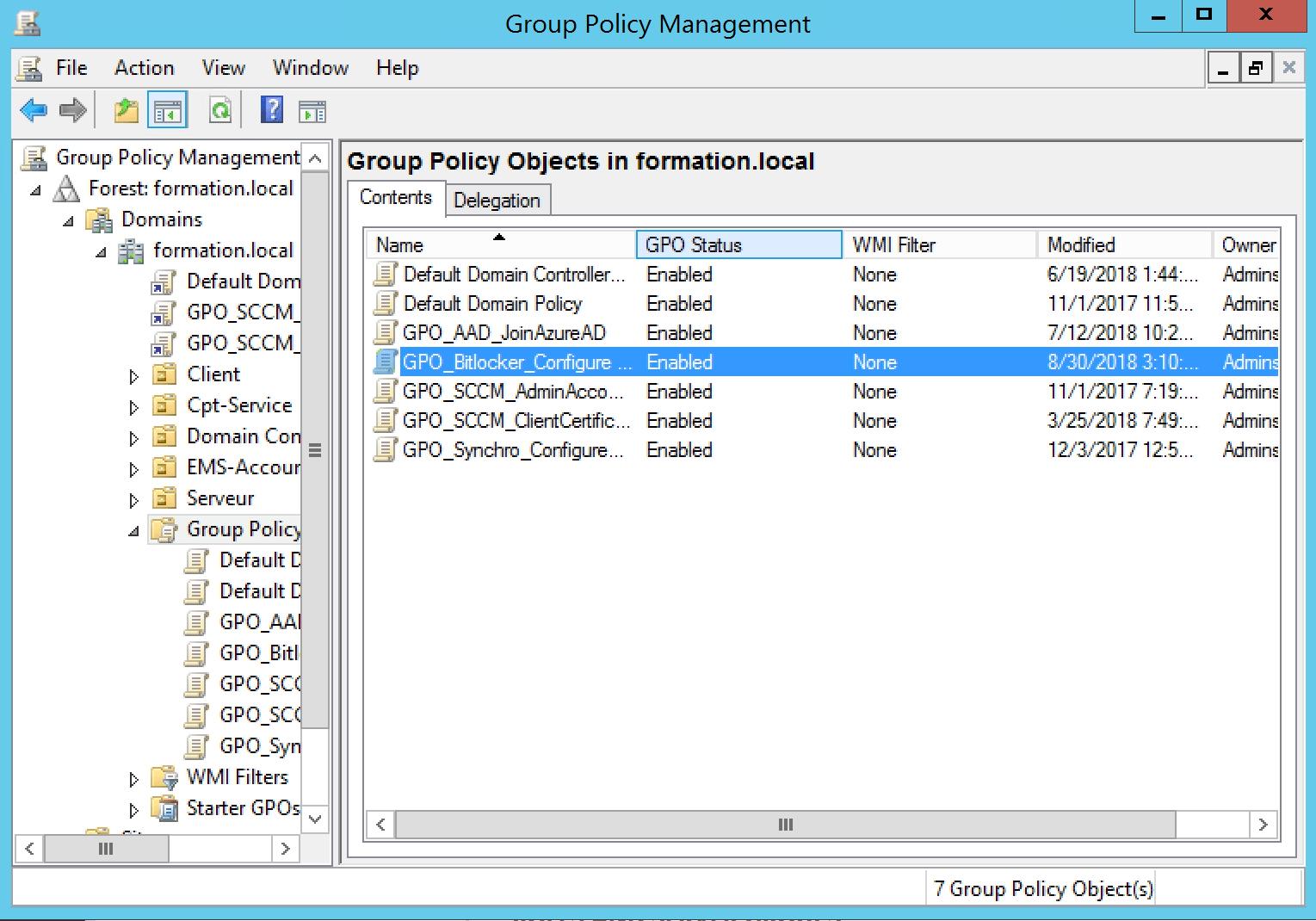 Secure your desktop with Bitlocker Edit Group Policy for configure Bitlocker parameter