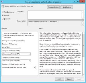 secure your desktop with Bitlocker