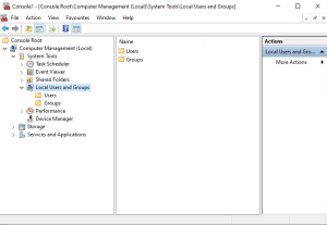 Add SCCM Server Account on Administrator group