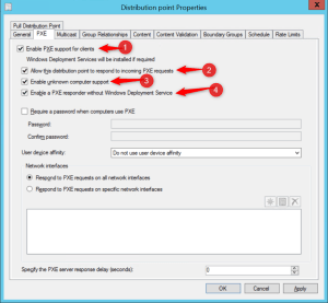 Configure PXE without WDS Server
