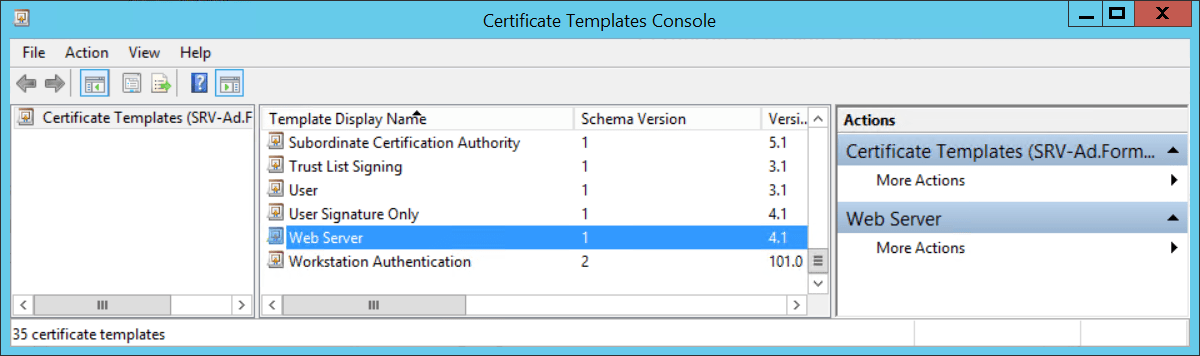 Configure cloud distribution Point - Duplicate Certificate for Cloud Management Gateway