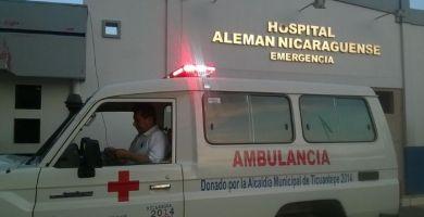 Hospitales saturados en Nicaragua