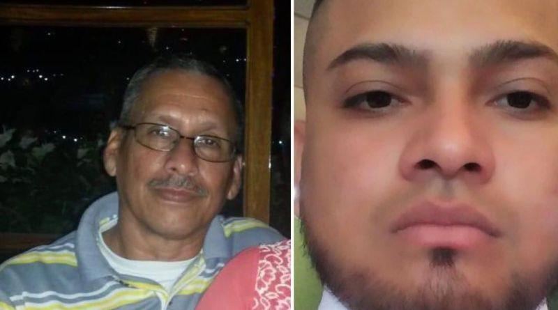 Ellos son Gustavo Cerna (izquierda), técnico de 100% Noticias y Josep Hernández, conductor del canal. Ambos están desaparecidos. Cortesía/NI