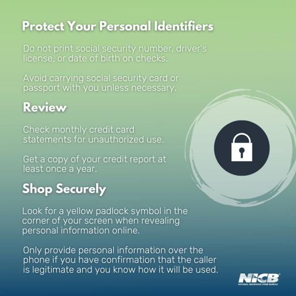 Tips for Avoiding Identity Theft