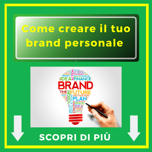 Come creare il tuo brand personale