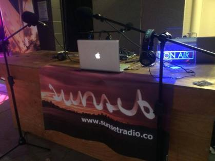 Event broadcast setup