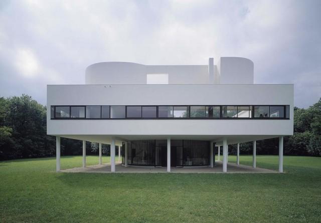 Poissy Villa Savoye Le Corbusier