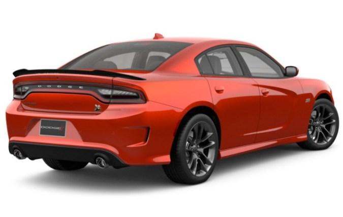 dodge charger 2021 body design image