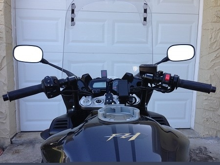 Yamaha Fz1 Present Convertibars Handlebar Riser System