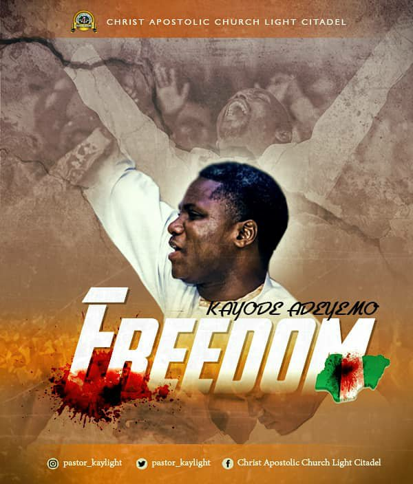 Pastor Kayode Adeyemo Freedom