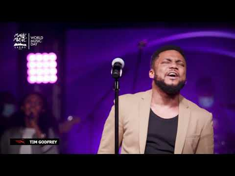 Tim Godfrey – Worthy to Be Praised  (Lyrics, Video)