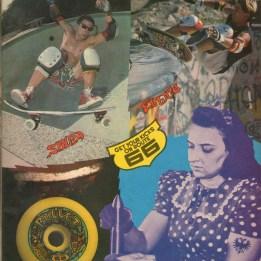 Salba and El Gato for Bullet 66 wheels ad. Santa Cruz