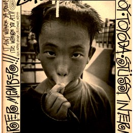 Stussy Tokyo International Ad. japanese kid tough