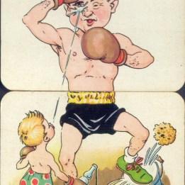 vintage body spiltter cards (8)