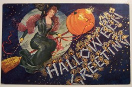 vintage halloween card retro (2)