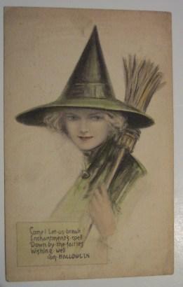 vintage halloween paper scrap (5)