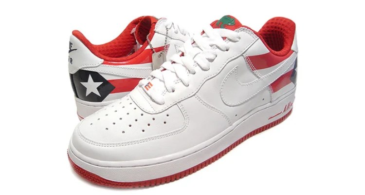 timeless design 74ae7 8bf6b ... Nike Air Force 1 Premium Puerto Rico PR7 2006 309096-113