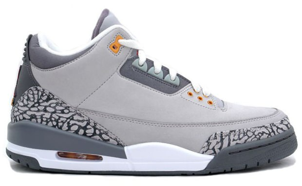 Air Jordan 3 Cool Grey
