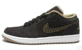 Air Jordan 1 Phat Low Velvet Brown Khaki bcc50a977
