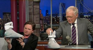 Michael J Fox appears on David Letterman for Nike MAG