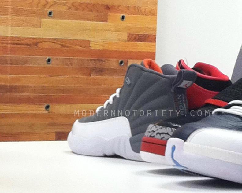 pretty nice 19942 8bf64 First Look: Air Jordan 12 Cool Grey/Team Orange | Nice Kicks
