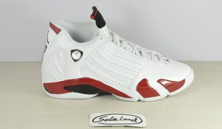 Air Jordan 14 White/Red