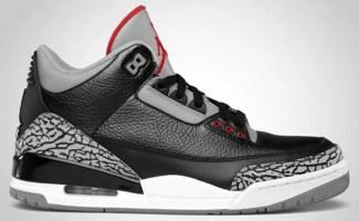 Air Jordan 3 Black/Cement Official Images