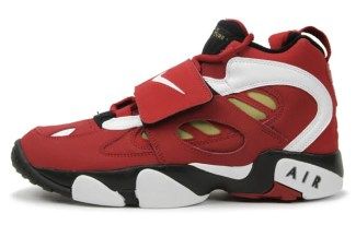 Nike Air Diamond Turf II Varsity Red/Metallic Gold