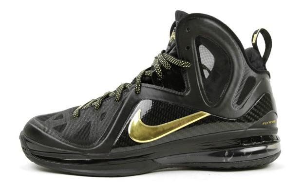 51550c7d4a6 Nike LeBron 9 P.S. Elite Black Metallic Gold